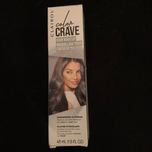New in box Clairol Color Crave Shimmering Platinum